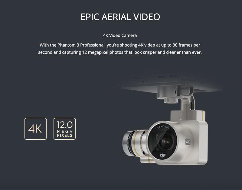 Phantom 3 Professional - Aerial video