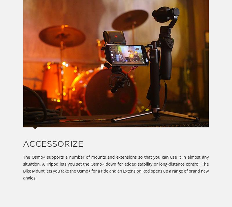 DJI OSMO+ PLUS Handheld 4K 12MP Stabylized Camera 22-77mm, 3.5× optical ZOOM | eBay