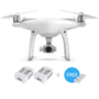 Phantom 4 + Two Extra Batteries + Battery Charging Hub