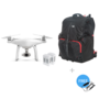 Phantom 4 + Two Extra Batteries + Phantom Backpack + Car Charger