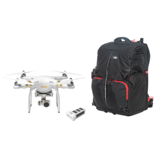 Phantom 3 Professional Fly More Combo with Free Training