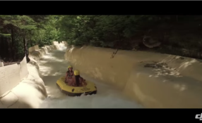 DJI-Whitewater Rafting in Canada
