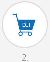 Make a purchase on the DJI Store