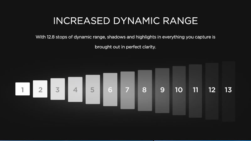 Zenmuse X3 Camera increased dynamic range