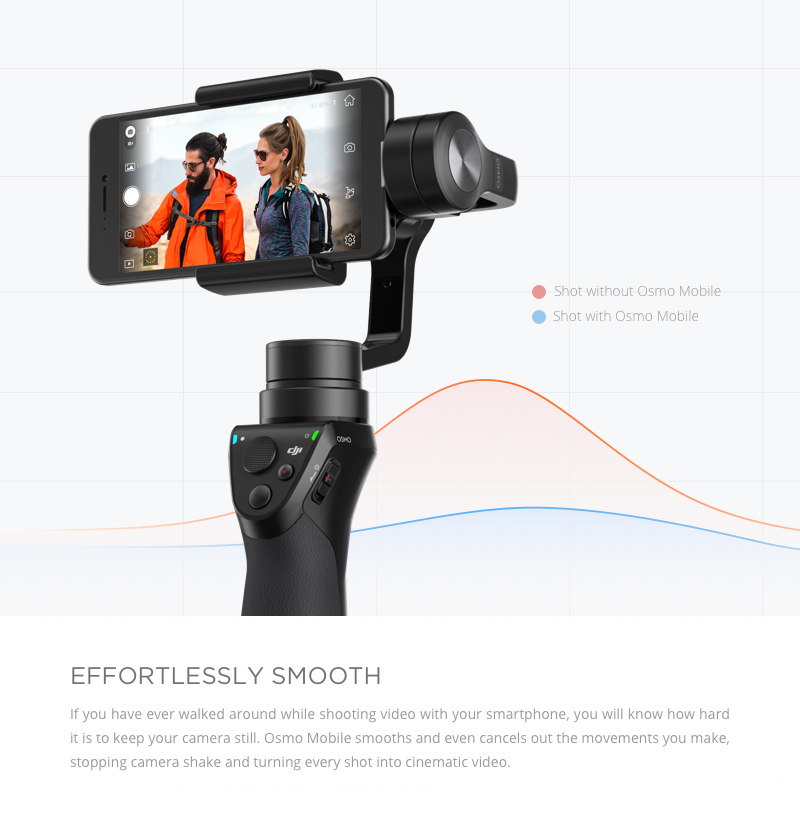 Buy DJI Osmo Mobile Black - Handheld Gimbal for Smartphone (DJI