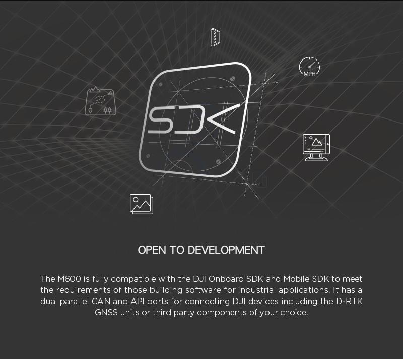 DJI Matrice 600 SDK