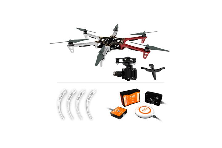 buy f550 arf kit   landing gear   naza