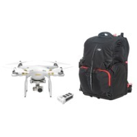Phantom 3 Professional with Extra Battery and Phantom Backpack